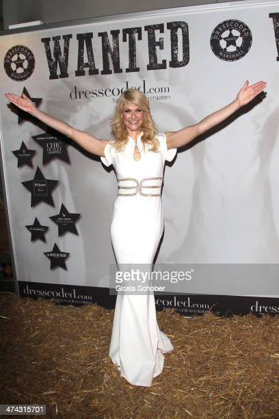 Natascha Gruen attends the Dresswestern party at Rilano No 6 on February 22 2014 in Munich Germany