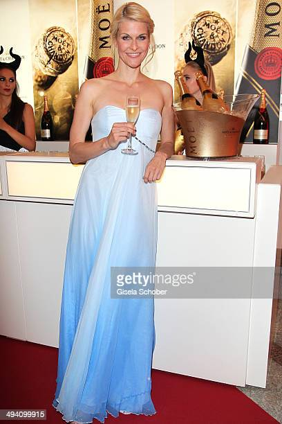 Natascha Gruen attends the Fashion Meets Movie gala screening of Maleficent at Gloria Palast on May 27 2014 in Munich Germany