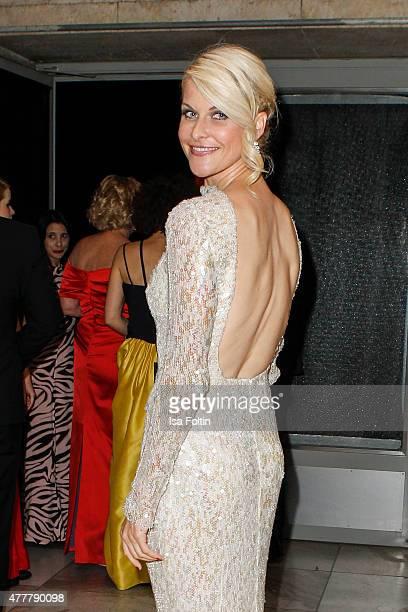 Natascha Gruen attends the German Film Award 2015 Lola at Messe Berlin on June 19 2015 in Berlin Germany