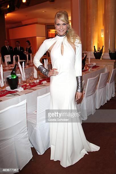 Natascha Gruen attends the German Film Ball 2014 at Hotel Bayerischer Hof on January 18 2014 in Munich Germany