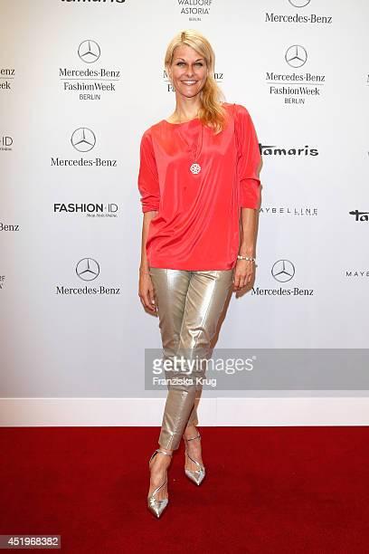 Natascha Gruen attends the Laurel show during the MercedesBenz Fashion Week Spring/Summer 2015 at Erika Hess Eisstadion on July 10 2014 in Berlin...