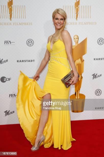 Natascha Gruen attends the Lola German Film Award 2013 at Friedrichstadt-Palast on April 26, 2013 in Berlin, Germany.