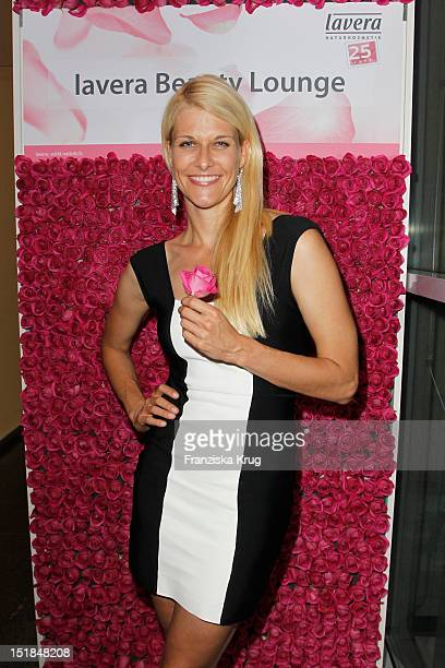 Natascha Gruen attends the New Faces Award Fashion 2012 aftershow party at Rheinterrasse on July 28 2012 in Duesseldorf Germany