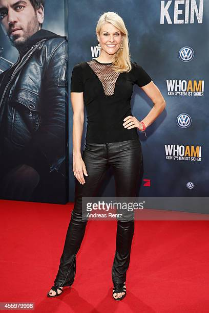 Natascha Gruen attends the premiere of the film 'Who am I' at Zoo Palast on September 23 2014 in Berlin Germany