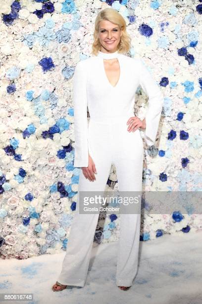 Natascha Gruen during the DressHeaven 2017 Christmas party by dresscoded at Armani Caffe on November 27 2017 in Munich Germany