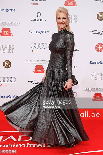 Natascha Gruen during the German Film Ball 2016 at Hotel Bayerischer Hof on January 16 2016 in Munich Germany