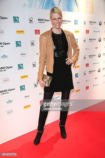 Natascha Gruen during the Players Night of the BMW Open 2016 tennis tournament at Iphitos tennis club on April 25 on April 25 2016 in Munich Germany