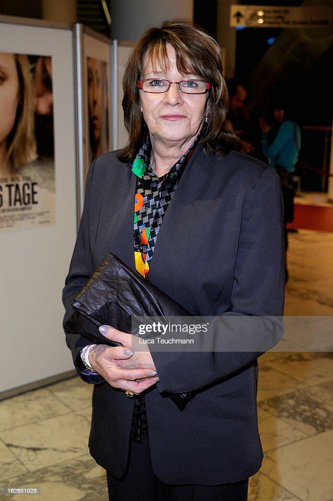 Natascha Kampuschs mother Brigitta Sirny attends the '3096 Tage' World Premiere at Cineplexx Wienerberg on February 25, 2013 in Vienna, Austria.
