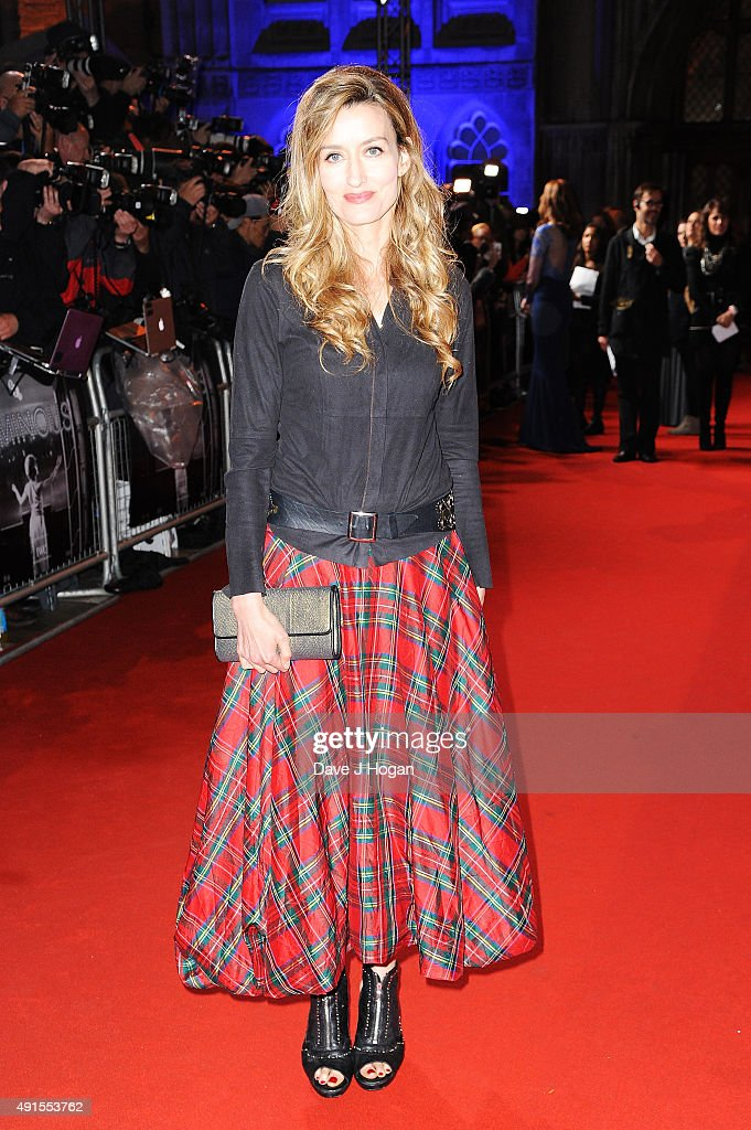 Natascha Mcelhone attends the BFI Luminous Funraising Gala at The Guildhall on October 6, 2015 in London, England.