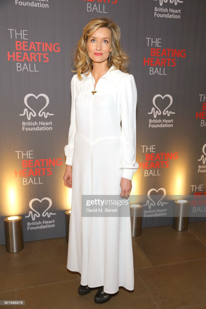 Natascha McElhone attends the British Heart Foundations Beating Hearts Ball at The Guildhall on February 20, 2018 in London, England.