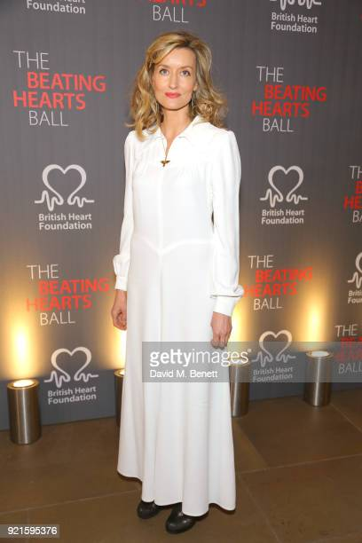 Natascha McElhone attends the British Heart Foundations Beating Hearts Ball at The Guildhall on February 20 2018 in London England