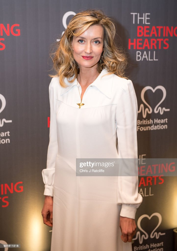 Natascha McElhone attends the British Heart Foundation's 'The Beating Hearts Ball' at The Guildhall on February 20, 2018 in London, England.