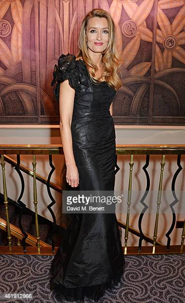 Natascha McElhone attends the English National Opera's Glorious Gala Evening at The Savoy Hotel on January 21 2015 in London England
