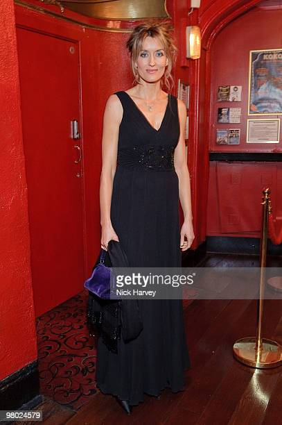 Natascha McElhone attends The ICA Fundraising Gala at KOKO on March 24, 2010 in London, England.