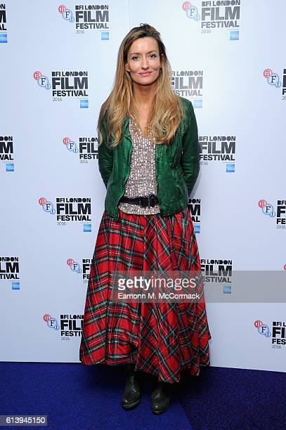 Natascha McElhone attends the 'London Town' screening during the 60th BFI London Film Festival at Haymarket Cinema on October 11 2016 in London...