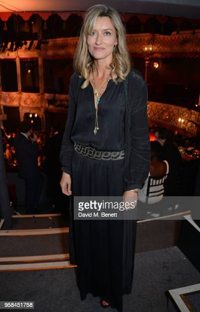 Natascha McElhone attends The Old Vic Bicentenary Ball to celebrate the theatre's 200th birthday at The Old Vic Theatre on May 13 2018 in London...