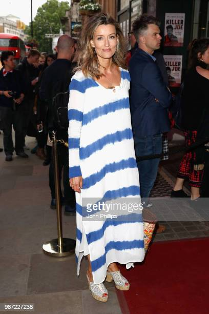 Natascha McElhone attends the opening night of 'Killer Joe' at Trafalgar Studios on June 4 2018 in London England