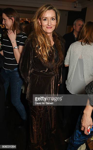 Natascha McElhone attends the press night after party for The Master Builder at The Old Vic Theatre on February 3 2016 in London England