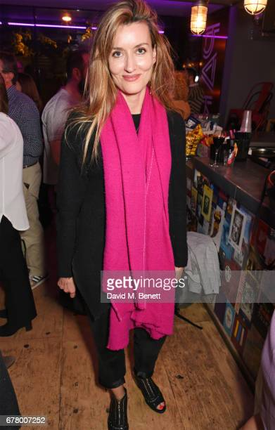 Natascha McElhone attends the press night performance of 'Madame Rubinstein' at the Park Theatre on May 3 2017 in London England