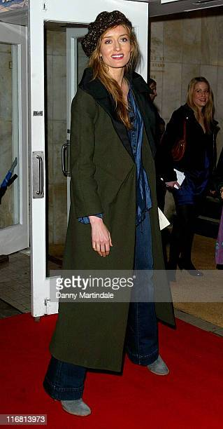 Natascha McElhone attends The Snowman Gala Performance at the Peacock Theatre on December 06 2007 in London England