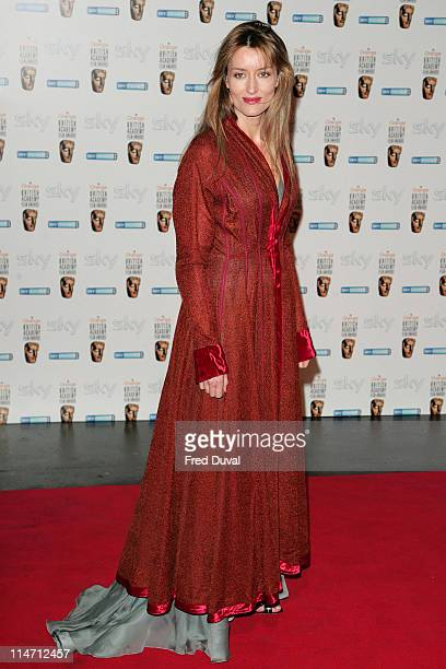 Natascha McElhone during BAFTA Nomination Reception Party February 10 2007 at Natural History Museum London in London Great Britain