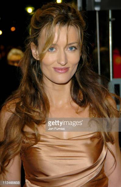 Natascha McElhone during Bridget Jones The Edge of Reason London Premiere Inside Arrivals at Odeon Leicester Square in London Great Britain