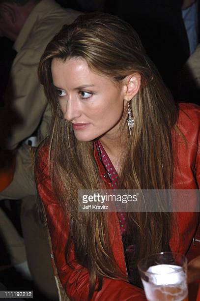 Natascha McElhone during Entourage Season Two Los Angeles Premiere After Party at The Hollywood Roosevelt Hotel in Hollywood California United States