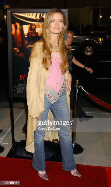 Natascha McElhone during 'In The Cut' Los Angeles Premiere Arrivals at Academy Theatre in Beverly Hills California United States