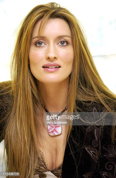 Natascha McElhone during 'Solaris' Press Conference with George Clooney Steven Soderbergh and Natascha McElhone at St Regis Hotel in Century City...