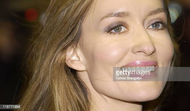 Natascha McElhone during The White Countess London Premiere Arrivals at Curzon Mayfair in London Great Britain