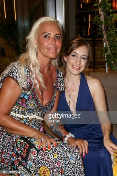 Natascha Ochsenknecht and German actress Maike von Bremen during the Remus Lifestyle Night on August 2 2018 in Palma de Mallorca Spain