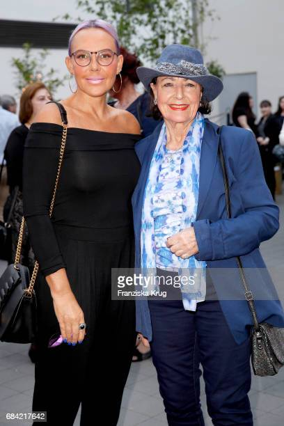 Natascha Ochsenknecht and her mother Baerbel Wierichs attend the 'The Addams Family' musical premiere at Admiralspalast on May 17 2017 in Berlin...
