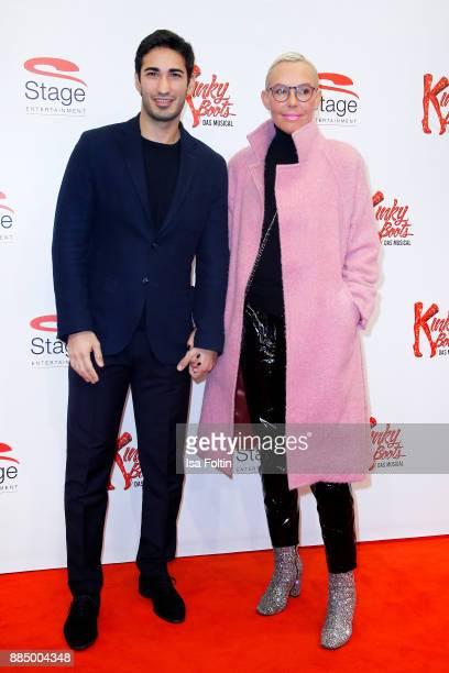 Natascha Ochsenknecht and her partner Umut Kekilli attend the 'Kinky Boots' Musical Premiere at Stage Operettenhaus on December 3 2017 in Hamburg...