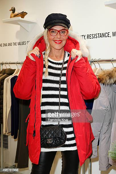 Natascha Ochsenknecht attends the Woolrich Store Opening on November 25 2015 in Berlin Germany