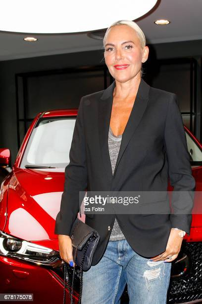 Natascha Ochsenknecht during the spring cocktail hosted by Mazda and InTouch magazine at Mazda Lounge on May 3 2017 in Berlin Germany