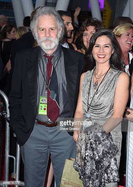 Natascha Weir Musician Bob Weir arrives at the 2014 American Music Awards Arrivals at Nokia Theatre LA Live on November 23 2014 in Los Angeles...