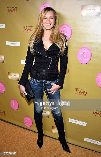 Natasha Alam attends the Celebrities Rock for a Cure Fundraiser for Alveolar Soft Part Sarcoma at the Roxy Theatre on December 2 2010 in West...