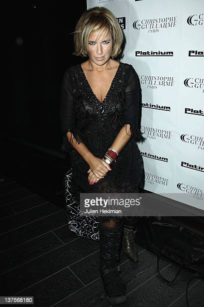 Natasha Amal attends the launch of Christophe Guillarme's luggage line at Hotel Renaissance on January 22 2012 in Paris France