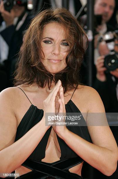 Natasha Amal during 2007 Cannes Film Festival No Country for Old Men Premiere at Palais des Festival in Cannes France