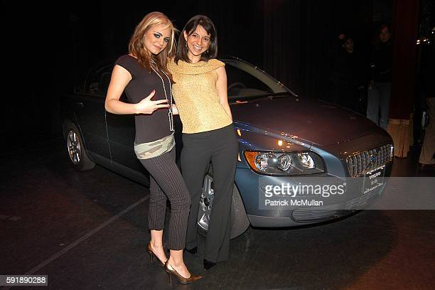 Natasha and Cathy Areu attend Groundbreaking Latina in Leadership Awards at Hudson Theatre on October 11 2005 in New York City