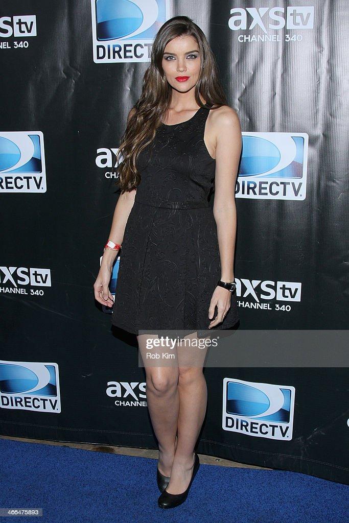Natasha Barnard attends the DirecTV Super Saturday Night at Pier 40 on February 1, 2014 in New York City.