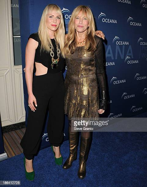 Natasha Bedingfield and Carly Simon arrives at the Oceana Partners Award Gala With Former Secretary Of State Hillary Rodham Clinton and HBO CEO...