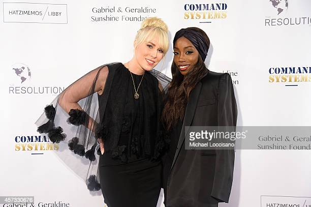 Natasha Bedingfield and Estelle attend The Resolution Project's Resolve 2014 Gala at The Harvard Club on October 16 2014 in New York City