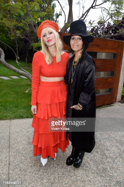 Natasha Bedingfield and honoree Linda Perry attend the 18th annual Chrysalis Butterfly Ball on June 01 2019 in Brentwood California