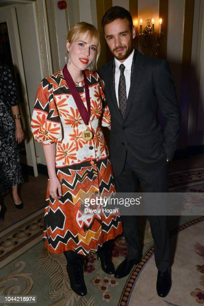 Natasha Bedingfield and Liam Payne attend the BMI Awards at The Dorchester on October 1 2018 in London England