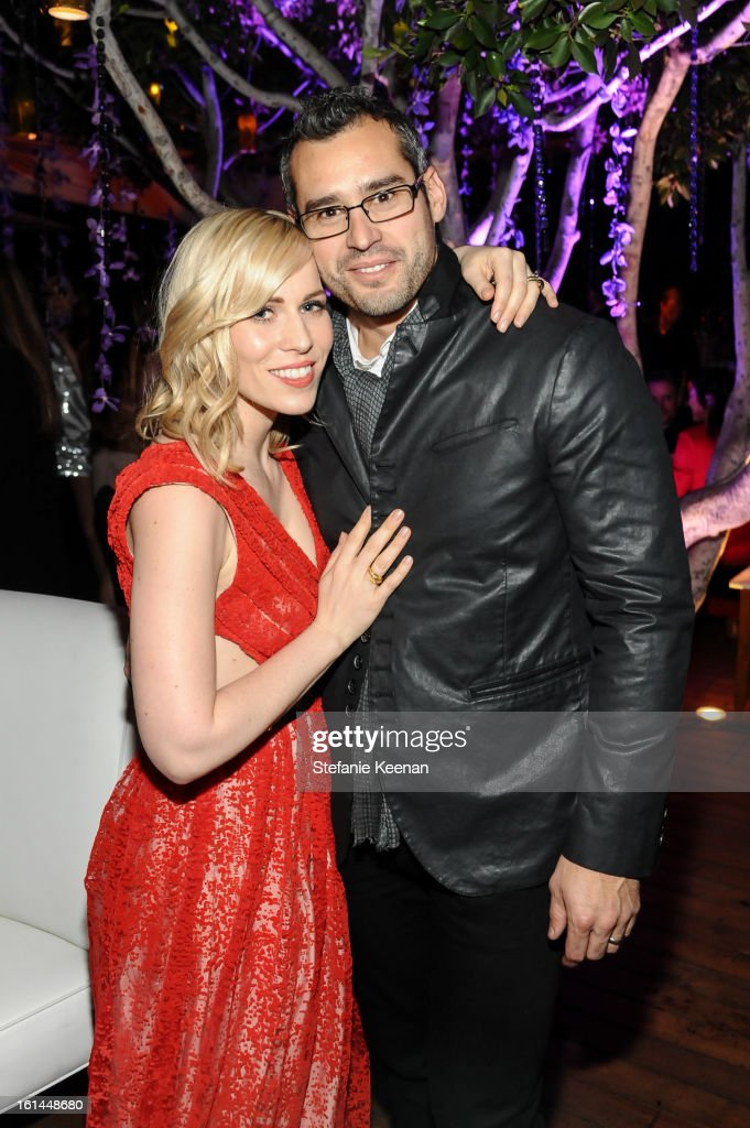 Natasha Bedingfield and Matthew Robinson attend Red Light Management Grammy After Party at Mondrian Los Angeles on February 10, 2013 in West Hollywood, California.