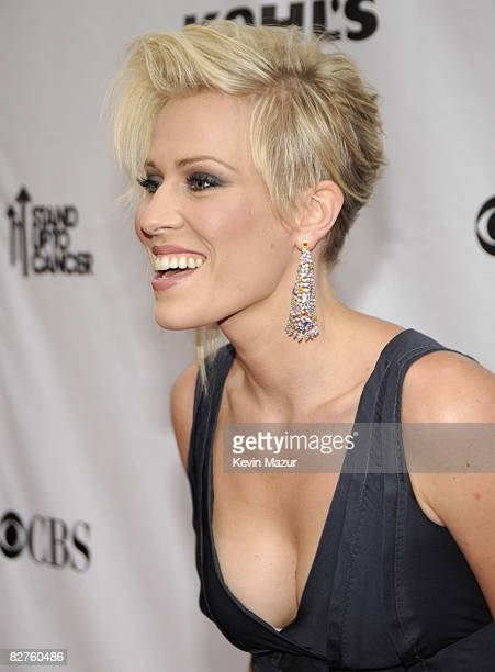 Natasha Bedingfield arrives at Conde Nast Media Group's Fifth Annual Fashion Rocks at Radio City Music Hall on September 5 2008 in New York City