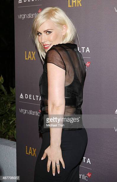 Natasha Bedingfield arrives at Delta Air Lines and Virgin Atlantic celebrate nonstop route between LAX and Heathrow Airports held at The London Hotel...