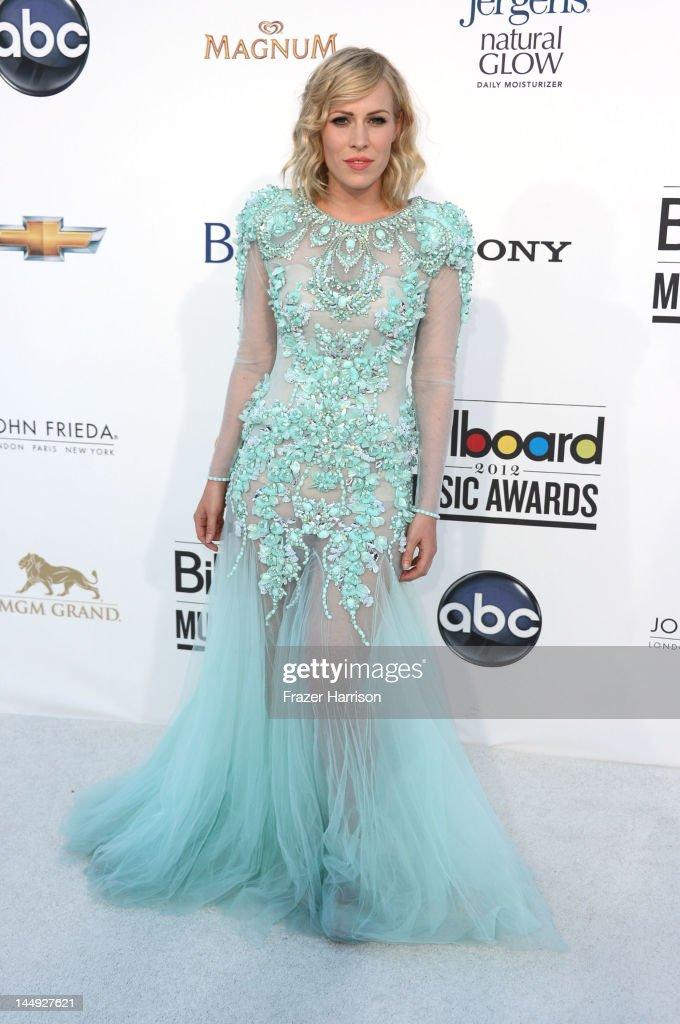 Natasha Bedingfield arrives at the 2012 Billboard Music Awards held at the MGM Grand Garden Arena on May 20, 2012 in Las Vegas, Nevada.