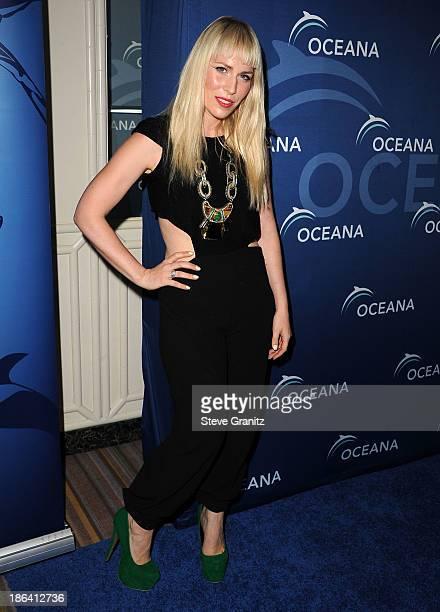 Natasha Bedingfield arrives at the Oceana Partners Award Gala With Former Secretary Of State Hillary Rodham Clinton and HBO CEO Richard Pleple at...